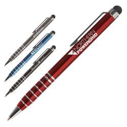Sensei Metal Stylus Pens with twist ballpoint and laser engraving