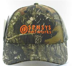 Structured Six Panel Camo Cap Mossy Pattern
