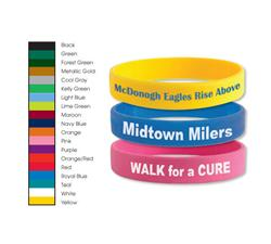 Custom Silicone Bracelets and Awareness Wrist Bands