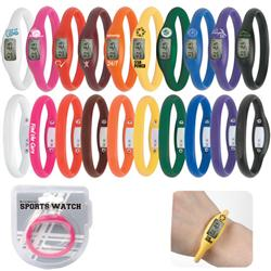 Custom Silicone Bracelet Sport Watches, Promotional Silicone Watch