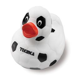 Custom Soccer Rubber Duck Promotional Item