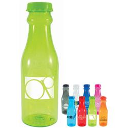 Soda Tritan Bottles in a large 23 oz size with custom imprint.  Reusable water bottles.