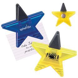 Star Magnetic Memo Clip