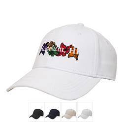 Structured iFlex Cap with custom embroidery