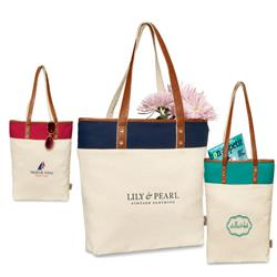 Taylor Cotton Fashion Tote With Custom Logo