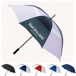 The Bogey Custom Vented Golf Umbrella and Promotional Umbrellas