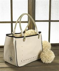 the rope tote 15oz cotton canvas