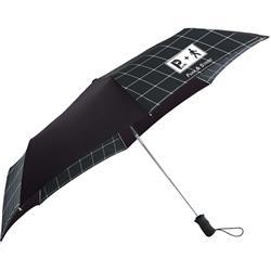 totes 3 Section Auto Open Umbrella with a custom logo