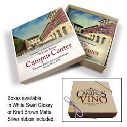 Tumbled Stone Coasters - Italian Botticino Marble with Gift Box