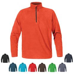 Stormtech Men's Chinook Microfleece 1/4 Zip Jacket with embroidery