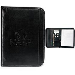 Vintage Leather E-Padfolio, Promotional iPad and Tablet Holder