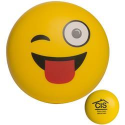 Wink Emoji Stress Balls