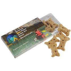 WoofElope Dog Biscuits with Custom Full Color Envelope, Promotional Dog Biscuits
