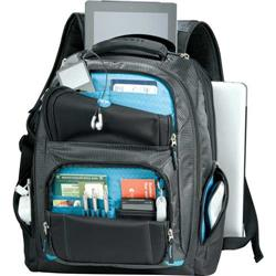 Zoom™ Checkpoint-Friendly Compu-Backpack with custom embroidery or printing