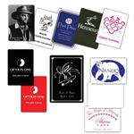 1-Color Custom Playing Cards Poker Size
