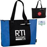 100% Recycled PET Laguna Zippered Tote Bags