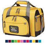 12 Can Custom Cooler Duffel Bags with your Promotional Logo in Colors