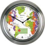 "13 1/2"" Custom Metal Wall Clock"