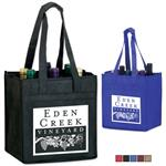 6 Bottle PolyPro Tote Bag for Wine