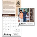 African American Everyday Heroes Wall Calendar