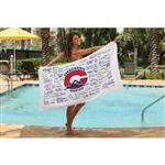 Signature Team Beach Towel