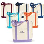 Captain's Canvas Boat Tote Bags