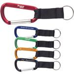 Carabiner Keychains with Strap
