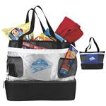 Double Decker Cooler Tote Bags