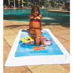 "Entry Weight Custom Beach Towels 29"" x 58"" 8 lb/doz"