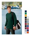Port and Company 100% Cotton Long Sleeve Screened T-shirts