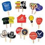 Custom Hand Fans and Promotional Fans in Stock Shapes