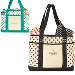 Audrey Fashion Tote Bags, Custom Cotton Canvas Totes