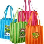 Custom Baja Tote Bags Non-Woven Polypropylene Eco Friendly Grocery and Shopping Tote Bags