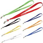 Wide Lanyard with Bulldog Clip attachment for badges