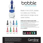 bobble 18.5 oz Filtered Water Bottle with Custom Imprint