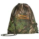 Big Buck Camo Drawstring Backpack