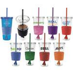 Custom Acrylic Tumblers with Straw 24 oz