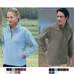 Custom Microfleece Half Zip Pullover Jacket