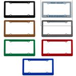 Promotional License Plate Frames