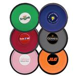 Custom promotional coasters with your company logo by Adco Marketing.