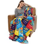 Tahoe Full Color Custome Printed Blanket in Microfleece with a custom edge to edge sublimated imprint