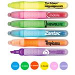Ther Gripper Rubber Grip Promotional Highlighters, Custom Fluorescent Highlighter