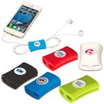 Gumbite Snappi Cable Organizer with custom printed logo