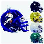 "3 1/4"" Glass Football Helmet Ornament"