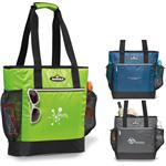 Igloo MaxCold™ Insulated Cooler Tote with custom logo.  Promotional Igloo cooler totes.