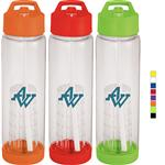 Tutti Frutti Infuser Sports Bottle in Tritan BPA Free Plastic with your custom imprint