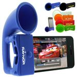 iPhone Megaphone Speaker made of silicone with a custom logo