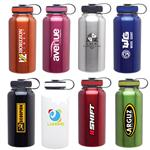 Large Custom Water Bottle in Stainless Steel BPA Free