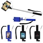 Pocket Wired Selfie Sticks with Optional Full Color Imprint