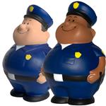 Custom Police Stress Reliever, Promotional Policeman Bert Stress Ball